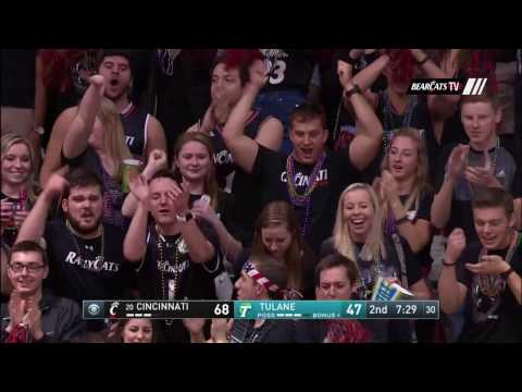 Men's Basketbal Highlights: Cincinnati 78, Tulane 61 (Courtesy CBS Sports Network)