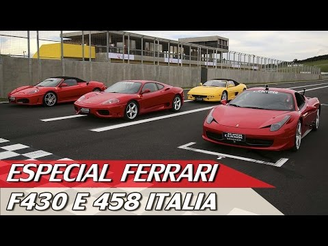 FERRARI F430 E 458 ITALIA - ESPECIAL #56 | ACELERADOS