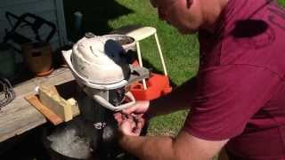 1962 johnson 3 hp restore part 10 starting attempt