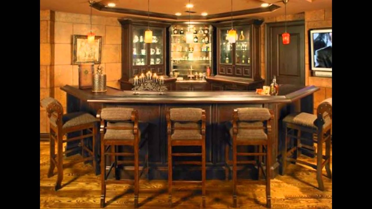 home wet bar plans free - YouTube