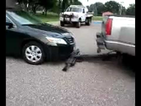 Loading Tow Truck w/ Fully Automatic Wheel Lift - YouTube