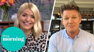 Gordon Ramsay Admits He Swore Just 45 Seconds Into His Show | This Morning