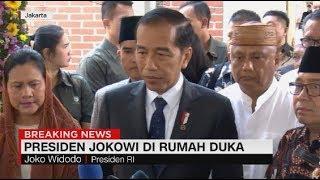 Didampingi Iriana, Jokowi Tiba di Rumah Duka BJ Habibie