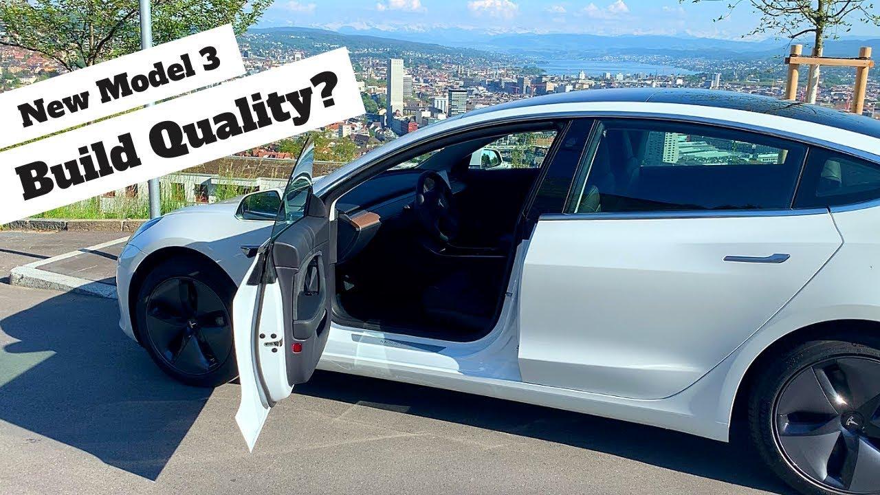Tesla Model 3 Build Quality | VIN 310,000+ / Q2 Built | How Good Has It Become?