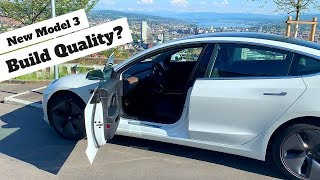 what does Tesla Model 3 build quality look in 2020 version?! #MODEL3 #TESLA #QUALITYINSPECTION