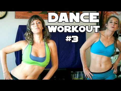 Fun Dance Workout #3 For Weight Loss, Core, Abs & Flat Tummy At Home Beginners Cardio Exercises