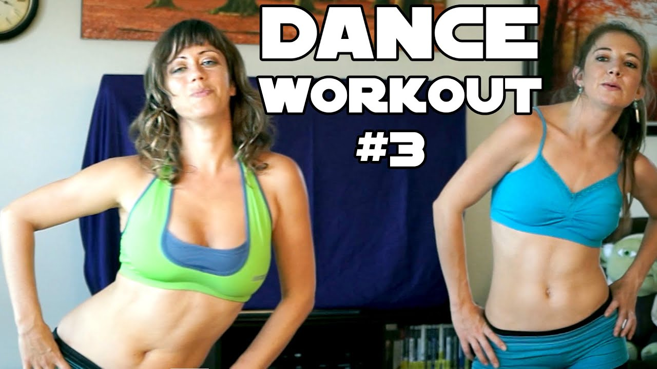 Fun Dance Workout #3 For Weight Loss, Core, Abs & Flat