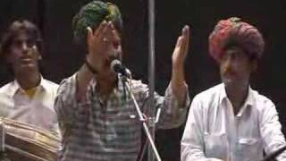 RAJASTHANI FOLK MUSIC -Song Gorbandh by Bundukhan Langa group