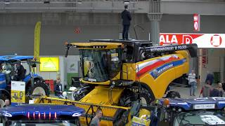 Kombajn New Holland CX - teleportacja