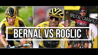 BERNAL VS ROGLIC! Victoria CARAPAZ Resumen Tour de Polonia ETAPA 3 y Tour de l'Ain ETAPA 1