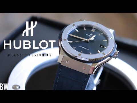 Hublot Classic Fusion 45 - Unboxing And Impressions