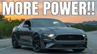 homepage tile video photo for MODIFYING my BROKEN 2018 Mustang GT #SENDIT