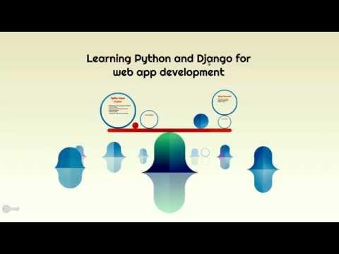 Learning Python and Django for web Development