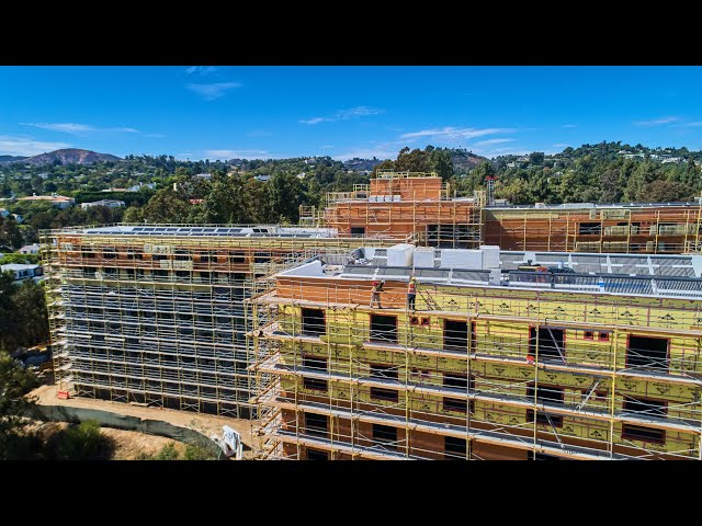 Massive air barrier project at UCLA completed with PROSOCO Cat 5