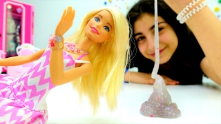 Барби и украшения из лизуна. Поделки своими руками