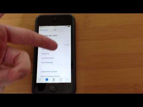 iPhone - How to Block a Number from Calling or Texting