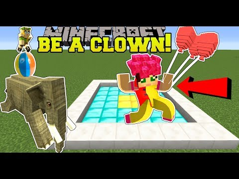 Minecraft: GOING TO CLOWN SCHOOL! - CLOWN TRAINING SCHOOL - Custom Map