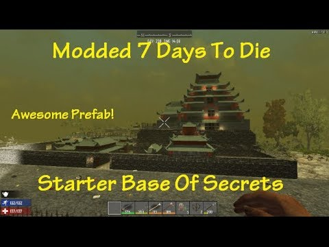 how to make a prefab for 7 days to die
