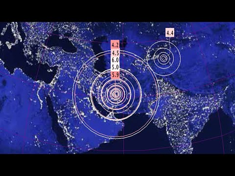 //ALERT\\ 6.0 Earthquake Kerman, Iran/Possible Superstorm Event Developing 12/12/2017