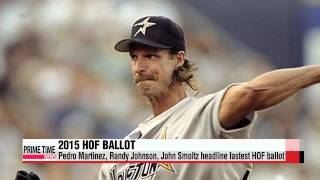 Randy Johnson, Pedro Martinez, and John Smoltz headline 2015 MLB Hall of Fame ba