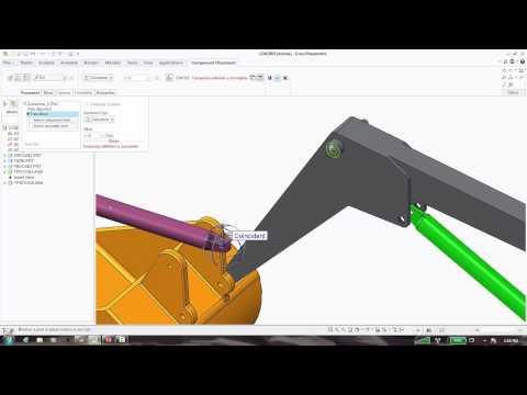 Motion in Assemblies using Creo Parametric 2.0