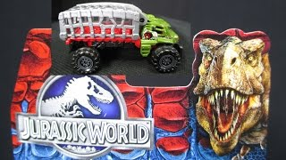 Jurassic World Vehicles From Matchbox
