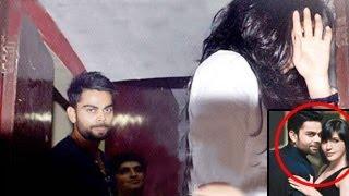 Anushka Sharma Virat Kohli Caught COZYING UP