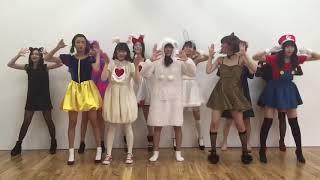 Seventeenモデル久間田琳加ちゃんの(後列右から3番目)逃げ恥ダンスです。