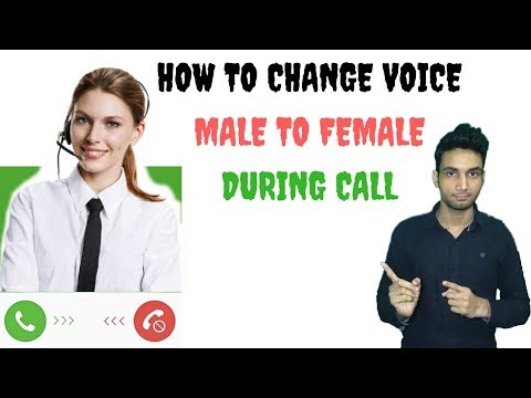 How To Change Voice Male To Female During Call | Best Voice Changer App