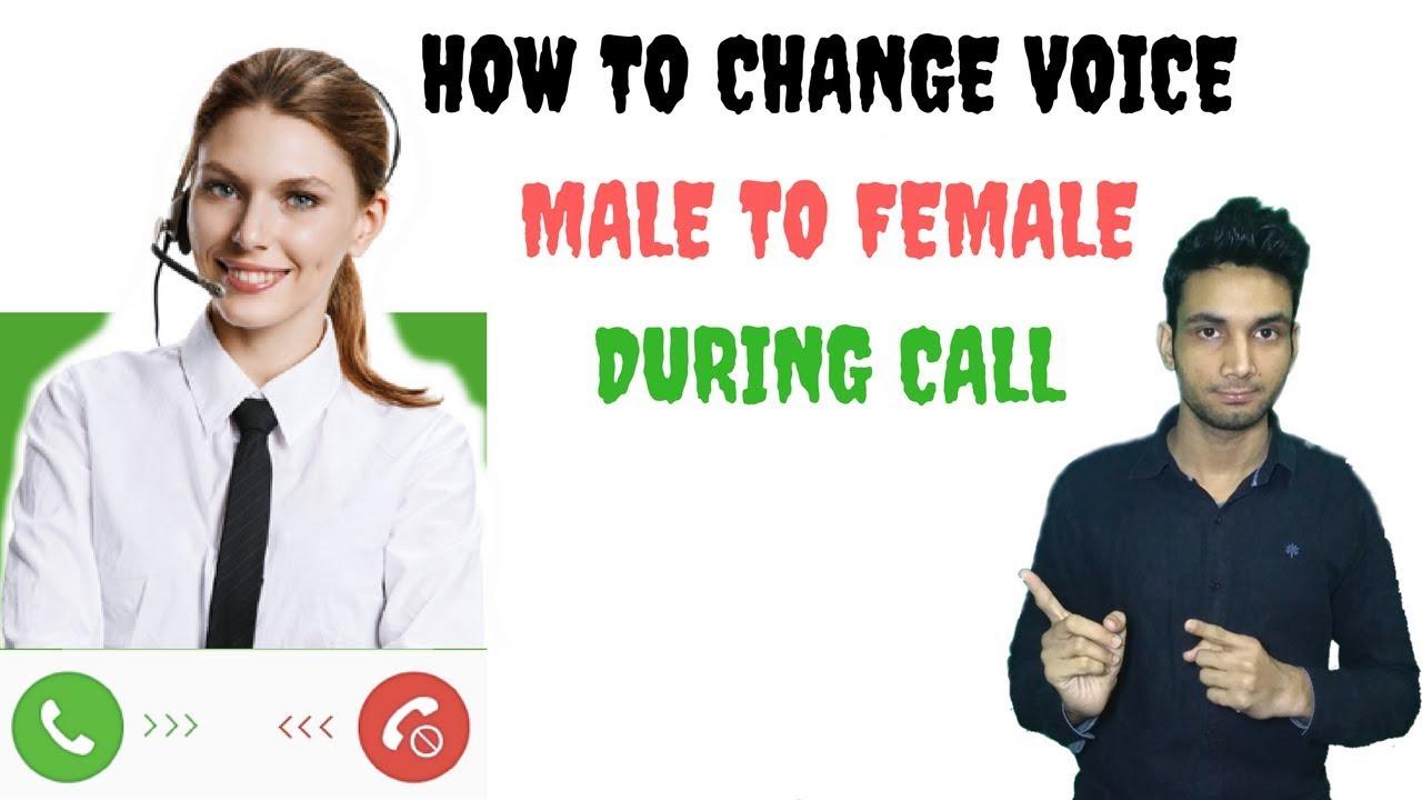 male voice changer