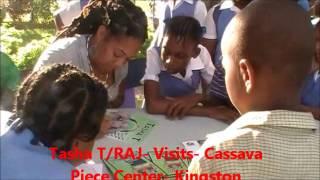 Tasha T/RAJ-Visits-Casava Piece-Kingston, Jamaica