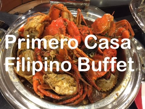Primero Casa Filipino Buffet Weekend Dinner Quezon City by HourPhilippines.com