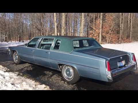 For Sale- 1977 Cadillac Fleetwood Limousine- Just Drove California To NY! Reliable,Solid, Low Miles