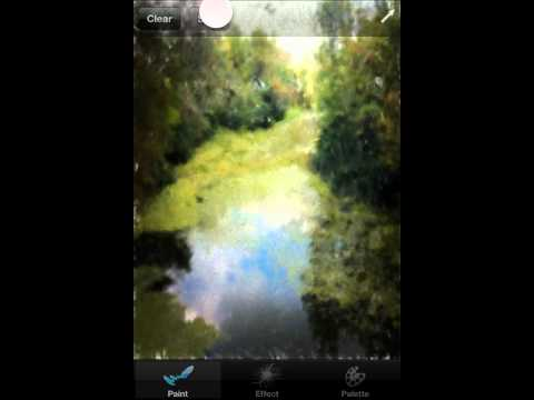 Motion Paint (Photo Editing App for iOS Devices) - Overview by Appyshka