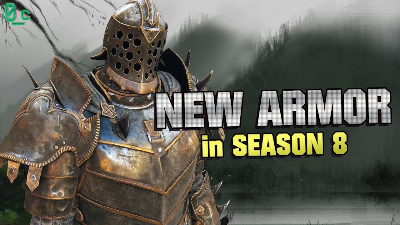 New Armor Sets for Season 8 (Reaction) | For Honor