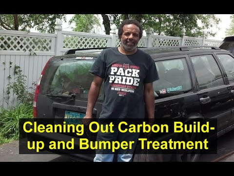 Cleaning carbon out of engines and top of pistons. I also treated bumpers with Forever Black. - HOWR