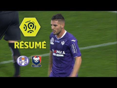 Toulouse FC - SM Caen (2-0)  - Résumé - (TFC - SMC) / 2017-18