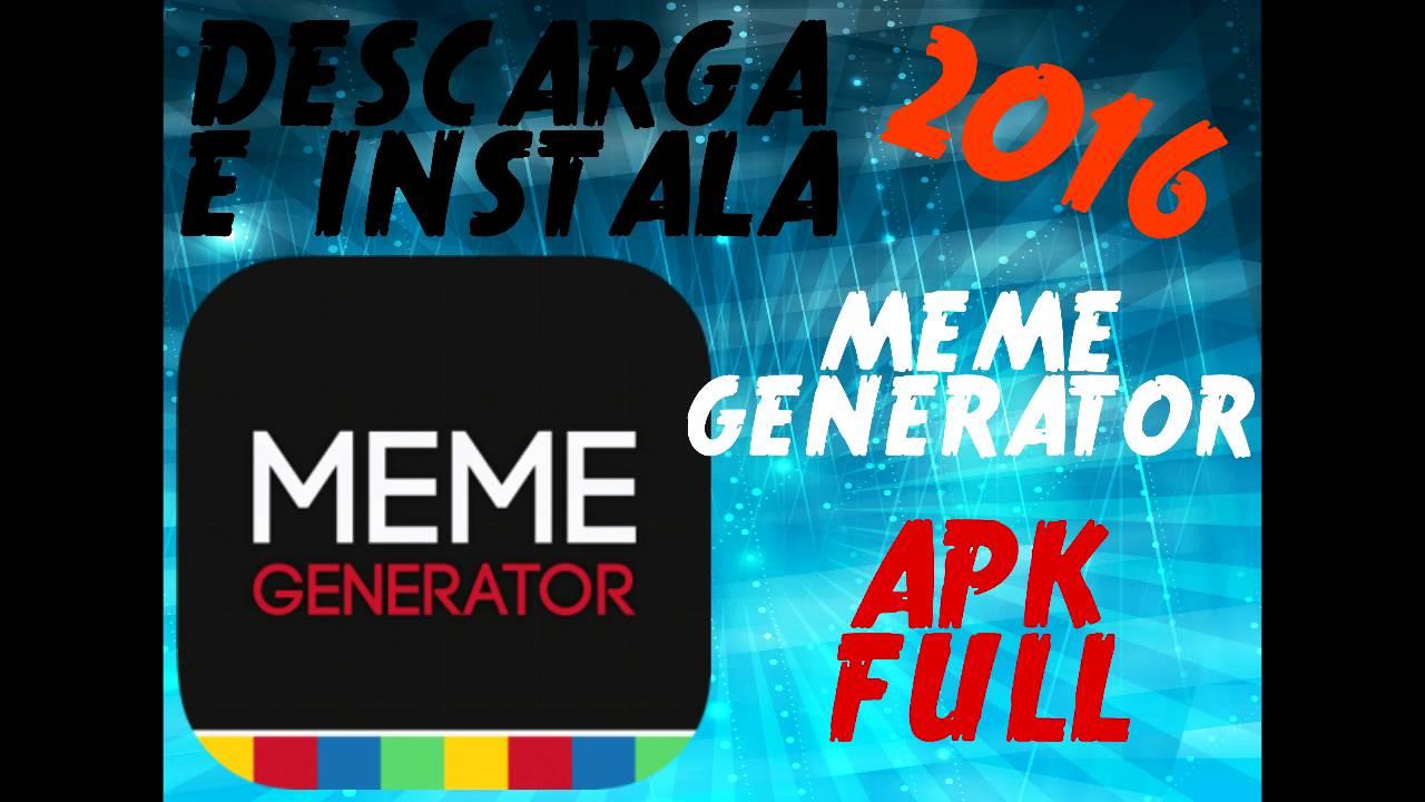 meme generator pro apk descargar