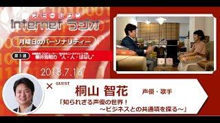 """7月16日(月)、櫻井浩昭の""""人・人・ばなし""""第52回の放送です! 人材..."""