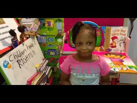 """MESSAGE TO ADULT AND CHILDREN """"Children have Rights"""" By Dijonae Jàyñae Gordon"""