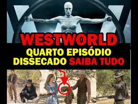 Westworld HBO 4º Quarto Episódio - Maeve, Hector e MIB se Revelam