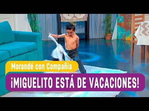 Miguelito al fin está de vacaciones   Morandé con compañía 2016