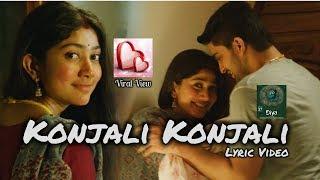 Konjali Konjali I Romantic Whatsapp StatusI Sai Pallavi I Diya Karu I Sam C.S