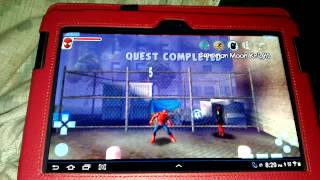 PPSSPP v0.9 SPIDERMAN WEB OF SHADOWS