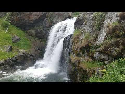 Moose Falls - Yellowstone