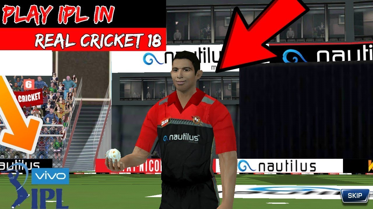 Play IPL In Real Cricket 18 | How To Play IPL In Real Cricket 18 |  Hindi/Urdu