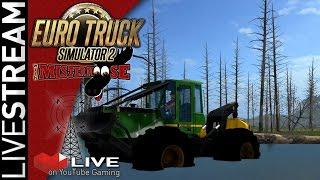 LiveStream: 12/8 Farming Simulator 17   Swamp Logging on Pacific Inlet
