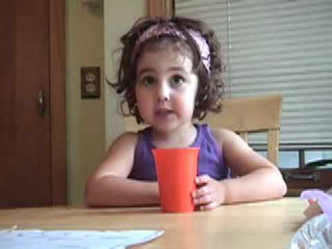 Funny 3 year old talking about star wars - YouTube