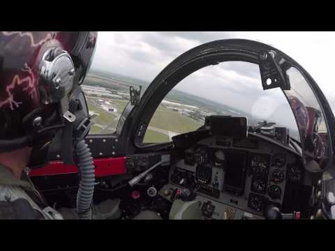 "Greg ""Wired"" Colyer T-33 ""Ace Maker"" In-cockpit Video @ 2017 Sun 'n Fun"