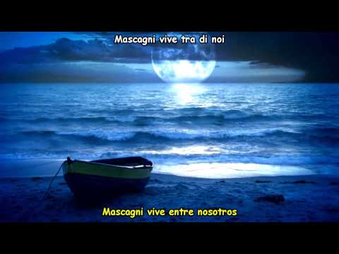 Andrea Bocelli - Mascagni (Italian Lyrics) Subtitulos Español